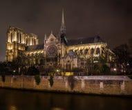 katedralna Paniusia De Notre Paris Obrazy Royalty Free