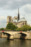 katedralna Paniusia De Notre Paris Fotografia Stock