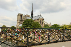 katedralna Paniusia De Notre Paris Zdjęcie Royalty Free