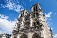 katedralna Paniusia De Notre Paris Zdjęcia Stock