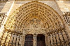 katedralna Paniusia De Notre Paris Fotografia Royalty Free