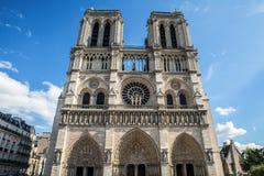 katedralna Paniusia De Notre Paris Obraz Stock