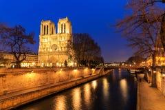katedralna Paniusia De Notre Paris Zdjęcia Royalty Free