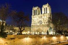 katedralna Paniusia De Notre Paris Obraz Royalty Free