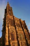 katedralna Strasbourg De Notre Dame Obrazy Stock