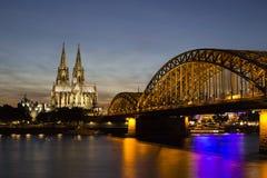 katedralnego cologne sławnego Germany dziedzictwa międzynarodowy punkt zwrotny miejsca unesco świat zdjęcia royalty free
