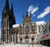 katedralnego cologne sławnego Germany dziedzictwa międzynarodowy punkt zwrotny miejsca unesco świat zdjęcie stock