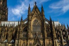 katedralnego cologne sławnego Germany dziedzictwa międzynarodowy punkt zwrotny miejsca unesco świat Obrazy Royalty Free