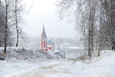 katedralnego demetrius złoty ringowy Russia st podróży vladimir Yaroslavl oblast Tutaev Kazan kościół transfiguracja obraz royalty free