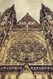 katedralnego szczegółu katedralny Prague st vitus Fotografia Stock