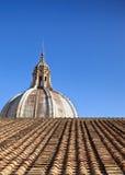 katedralnej kopuły dachowa płytka Zdjęcie Royalty Free