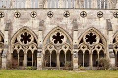 katedralni cloisters Fotografia Stock
