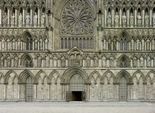 katedralni nidaros Zdjęcie Royalty Free