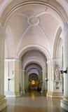 katedralni wnętrza Zdjęcia Royalty Free