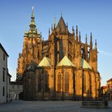 katedralny świątobliwy vitus Zdjęcia Stock