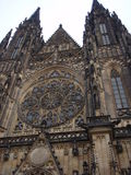 katedralny świętego Prague vitus Obrazy Royalty Free