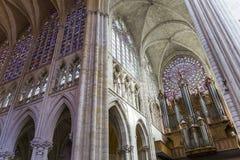 Katedralny święty Gatien wycieczki turysyczne, Loire dolina, Francja Zdjęcie Stock