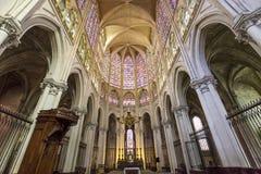 Katedralny święty Gatien wycieczki turysyczne, Loire dolina, Francja Zdjęcia Stock