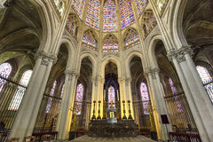 Katedralny święty Gatien wycieczki turysyczne, Loire dolina, Francja Obraz Stock