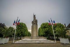 katedralny Auxerre pejzaż miejski Etienne France rzeczny świątobliwy Yonne Fotografia Royalty Free