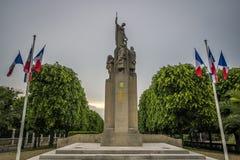 katedralny Auxerre pejzaż miejski Etienne France rzeczny świątobliwy Yonne Fotografia Stock
