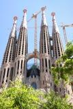 katedralny Barcelona familia Sagrada Zdjęcia Stock