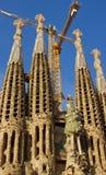 Katedralny Cagrada Familia Obrazy Royalty Free