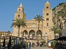 katedralny cefalu Zdjęcia Royalty Free