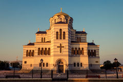 katedralny chersonesus Crimea blisko Sevastopol st taurica Ukraine vladimir Obrazy Royalty Free