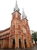 katedralny chi miasta paniusi ho minh notre Vietnam Zdjęcia Royalty Free