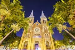 katedralny chi miasta paniusi ho minh notre Vietnam Zdjęcia Stock