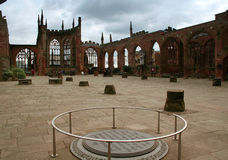 katedralny Coventry Obrazy Royalty Free