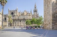 Katedralny De Santa Maria de los angeles Sede Zdjęcia Royalty Free