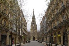 Katedralny Del Buen Pastor, San Sebastian, Baskijski kraj Zdjęcie Royalty Free