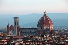 katedralny Del Fiore Maria Santa zdjęcie stock