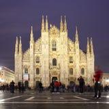 katedralny Di Duomo Milan Milano fotografia stock