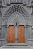 katedralny drzwiowy gothic Obraz Royalty Free