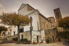 Katedralny Duomo kościół Ravello, Amalfi brzegowy śródziemnomorski se Obraz Royalty Free