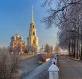 Katedralny dzwonkowy wierza Ryazan Kremlin, XVIIIâ€' XIX wiek, Ru Zdjęcia Stock
