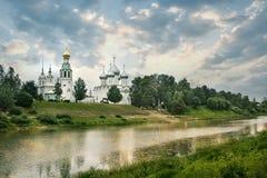 Katedralny dzwonkowy wierza St. Sophia katedra w Vologda Fotografia Stock