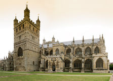 katedralny Exeter Zdjęcie Stock