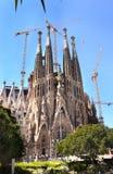 katedralny familia Sagrada Obrazy Royalty Free