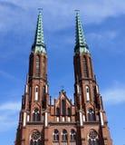 katedralny florian świątobliwy Warsaw Obrazy Royalty Free