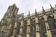 katedralny France katedralny Rheims Obraz Stock