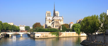 katedralny France Paris notre dame Obrazy Royalty Free