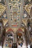 katedralny fresk Siena Zdjęcia Stock