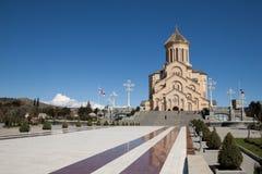 katedralny Georgia ortodoksyjny Tbilisi Fotografia Royalty Free