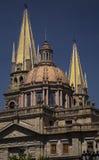 katedralny Guadalajara metropolitan Meksyku Zdjęcia Royalty Free