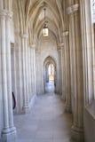 Katedralny Hall łuk Zdjęcia Royalty Free