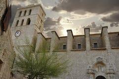 katedralny ibiza Obraz Royalty Free